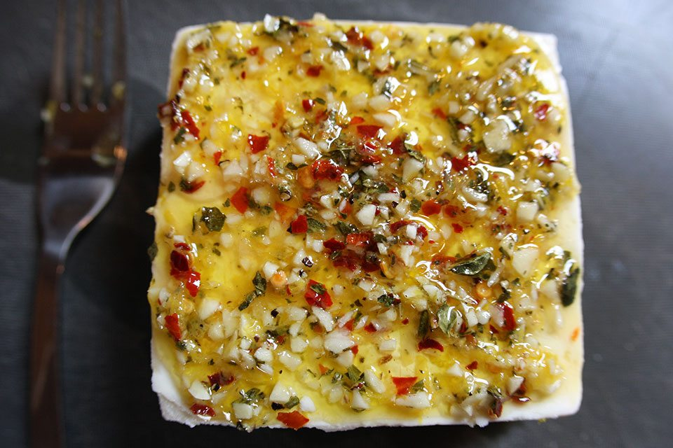 Baked Feta Recipe | Nomad with Cookies