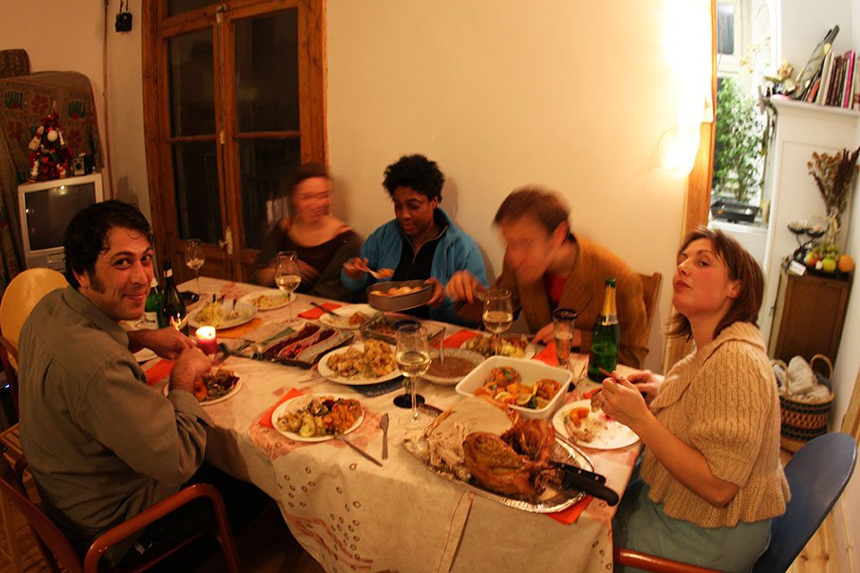Amsterdam expats at Thanksgiving | Nomad with Cookies