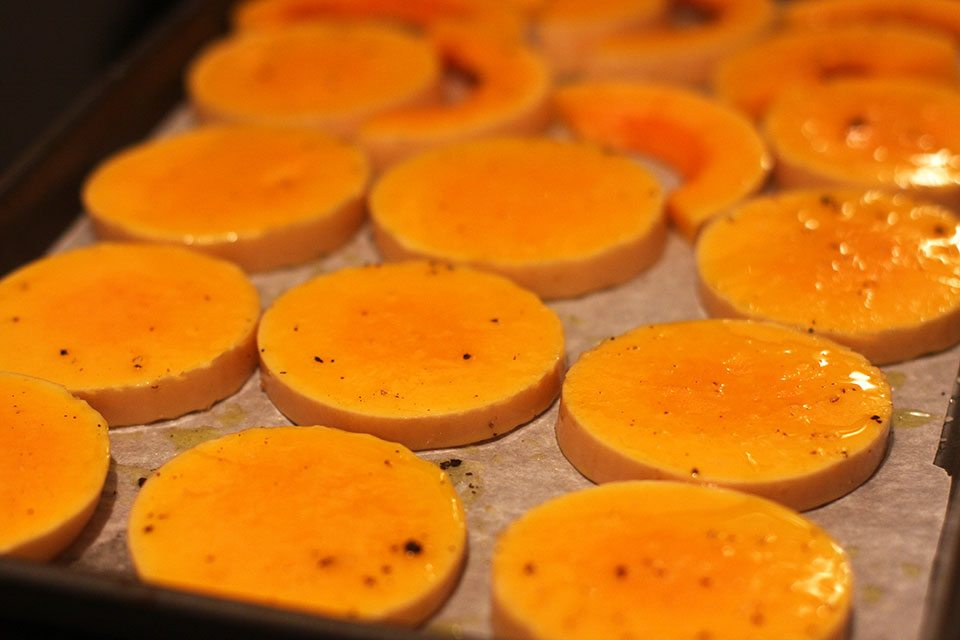 Roasted butternut squash | Nomad with Cookies