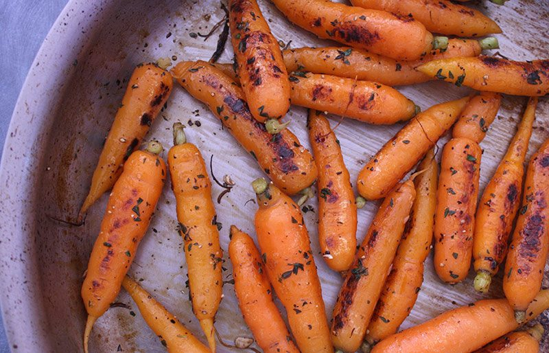 Lemon and Thyme Carrots