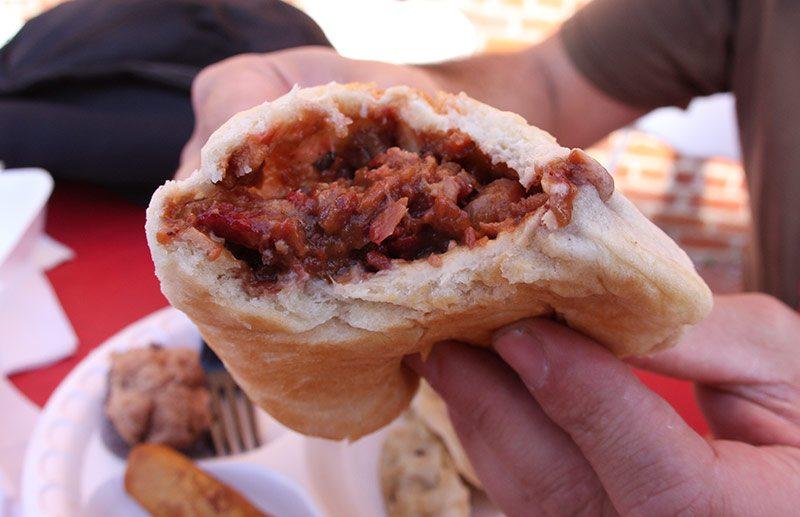Barbecue pork bun