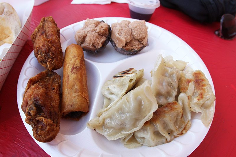 Assortment of dumplings in San Diego