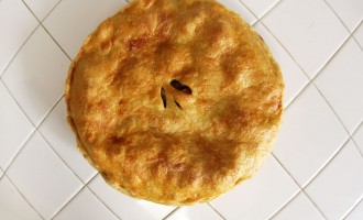 Charoset apple almond pie recipe - Nomad with Cookies