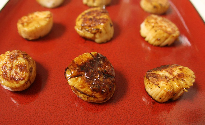 Balsamic Glazed Scallops Recipe