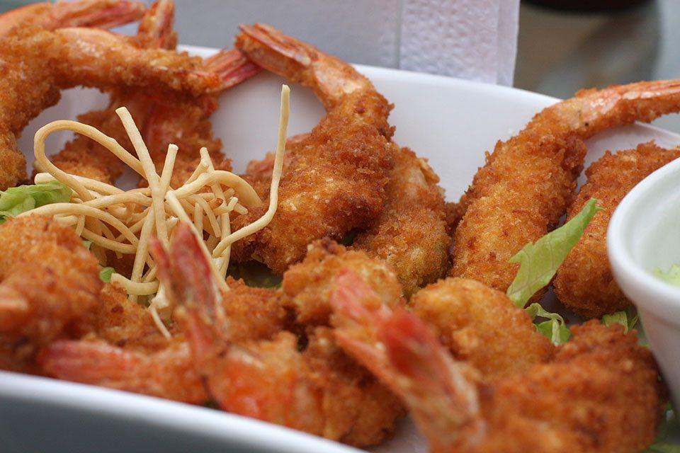 Shrimps in Lima, Peru