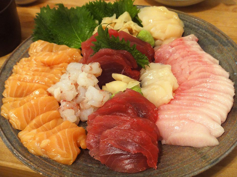 Best sashimi plate ever | Nomad with Cookies