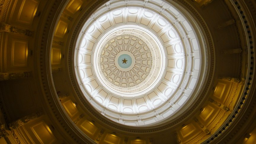 Atrium of the Texas State Capitol