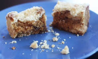 Chocolate lychee coffee cake recipe - Nomad with Cookies
