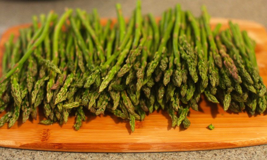 Asparagus, Edamame and Mint Salad Recipe