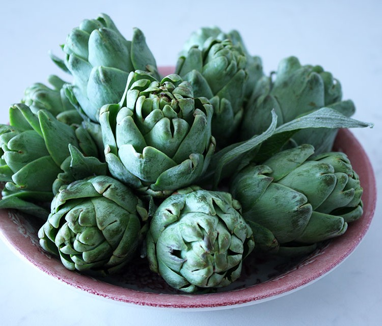 Baby artichokes | Nomad with Cookies