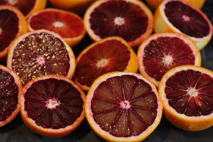 blood orange sidecar granita recipe   nomad with cookies