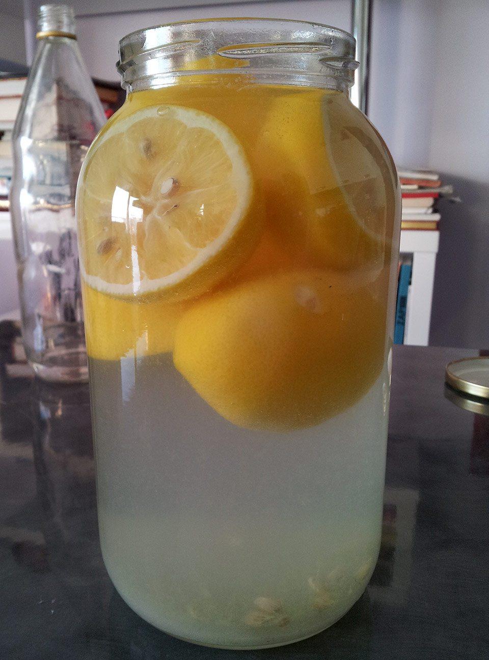 Croatian lemon rakija aka limoncello recipe