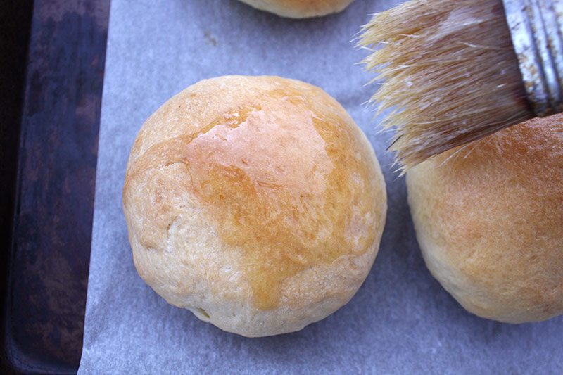 glaze-baked-buns-with-butter