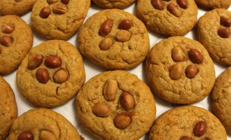 Cayenne peanut butter cookies recipe | Nomad with Cookies