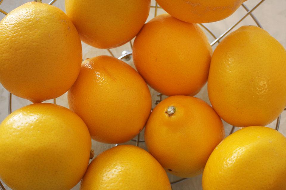 Meyer lemons for lemonade